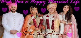 Soha and Kunal Offers a Reserved and Dazzling Wedding Day Together
