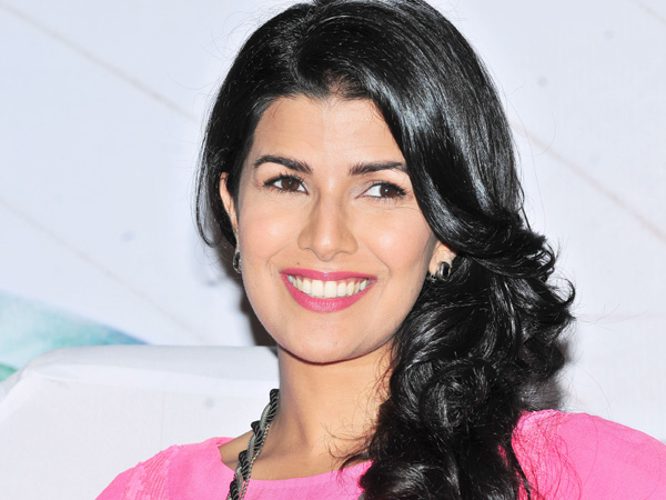 Nimrat Kaur for promotion of his film Lunch Box