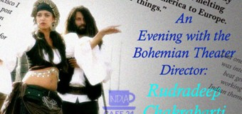 An Evening with the Bohemian Theater Director: Rudradeep Chakrabarty