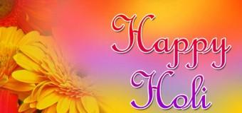 The Colour of the Season: The Colour of Holi