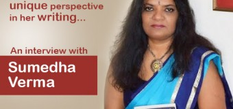 An author with Unique Prespective- Sumedha Verma- COMING SOON