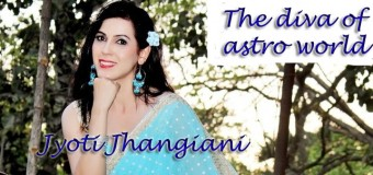Sensational and Talented Diva of Astro World Jyoti Jhangiani