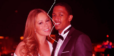 Mariah Carey and Nick Cannon copy