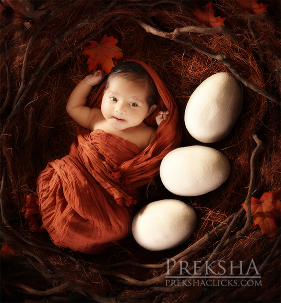 Creative Baby photography Hyderabad