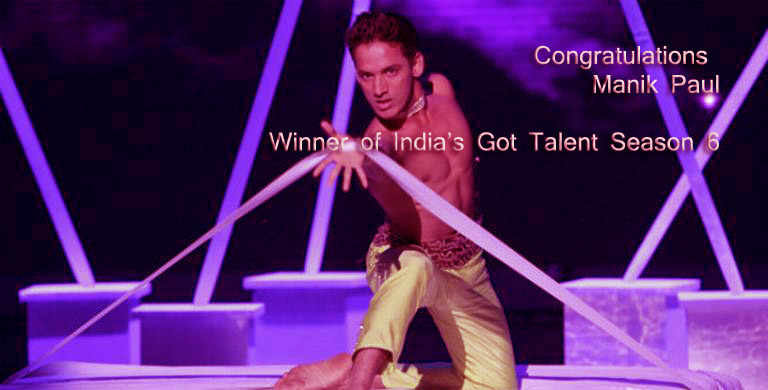 India's got Talent- Manik Paul
