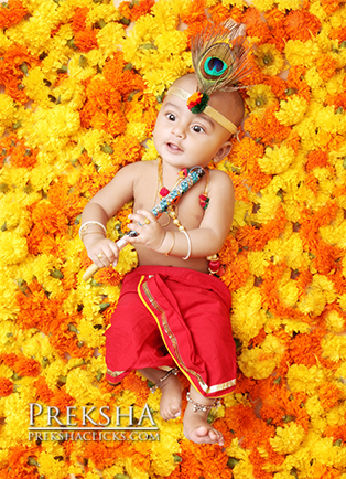 Krishna baby photography hyderabad
