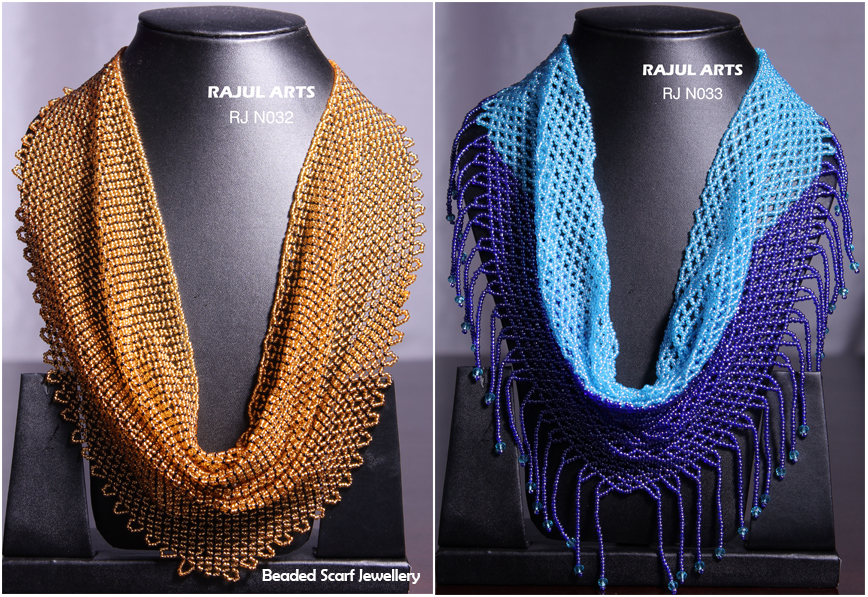 Beaded Scarf Jewellery