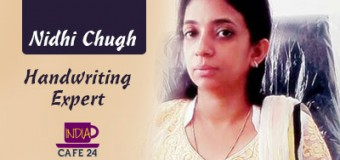 Nidhi Chugh- Judging Character And Personality With Handwriting