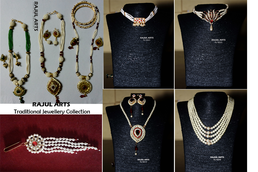 Traditional Jewellery collage