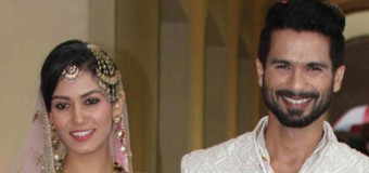 Shahid And Mira Tie The Knot In A Private Punjabi Style Ceremony