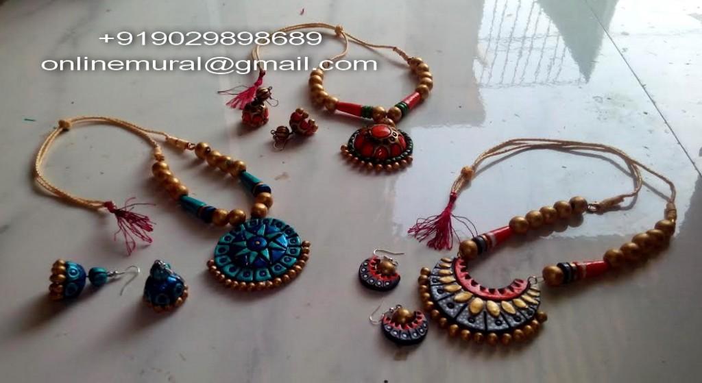12 terracotta Jewellery