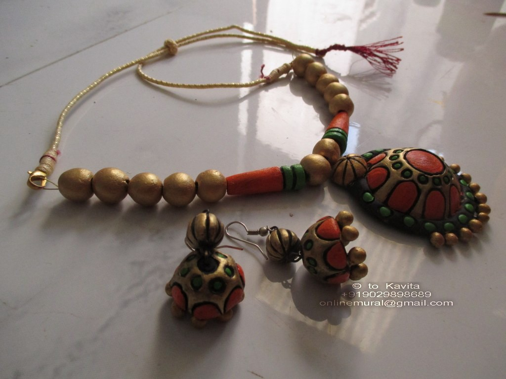 12A terracotta jewellery