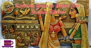 Kawita Thakur- Creating Mural Saga