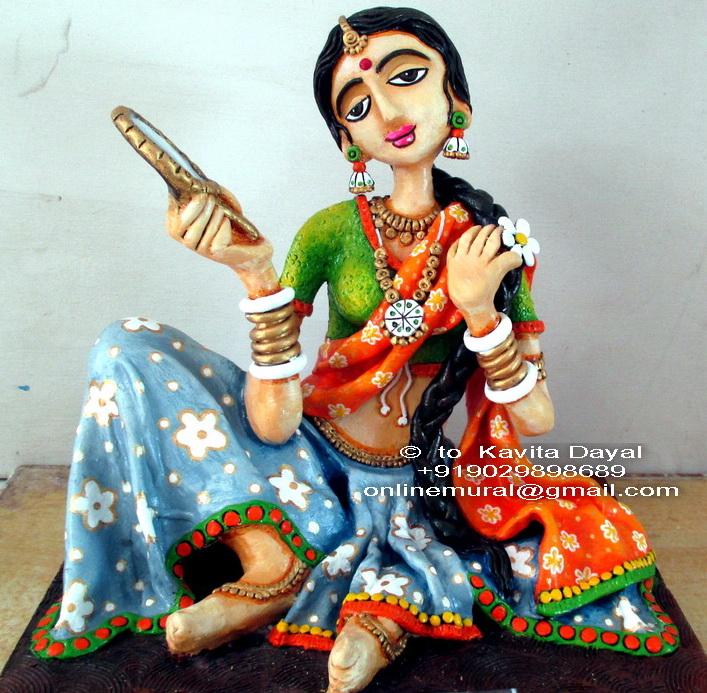 7 Sculpture Sringaar Kanya