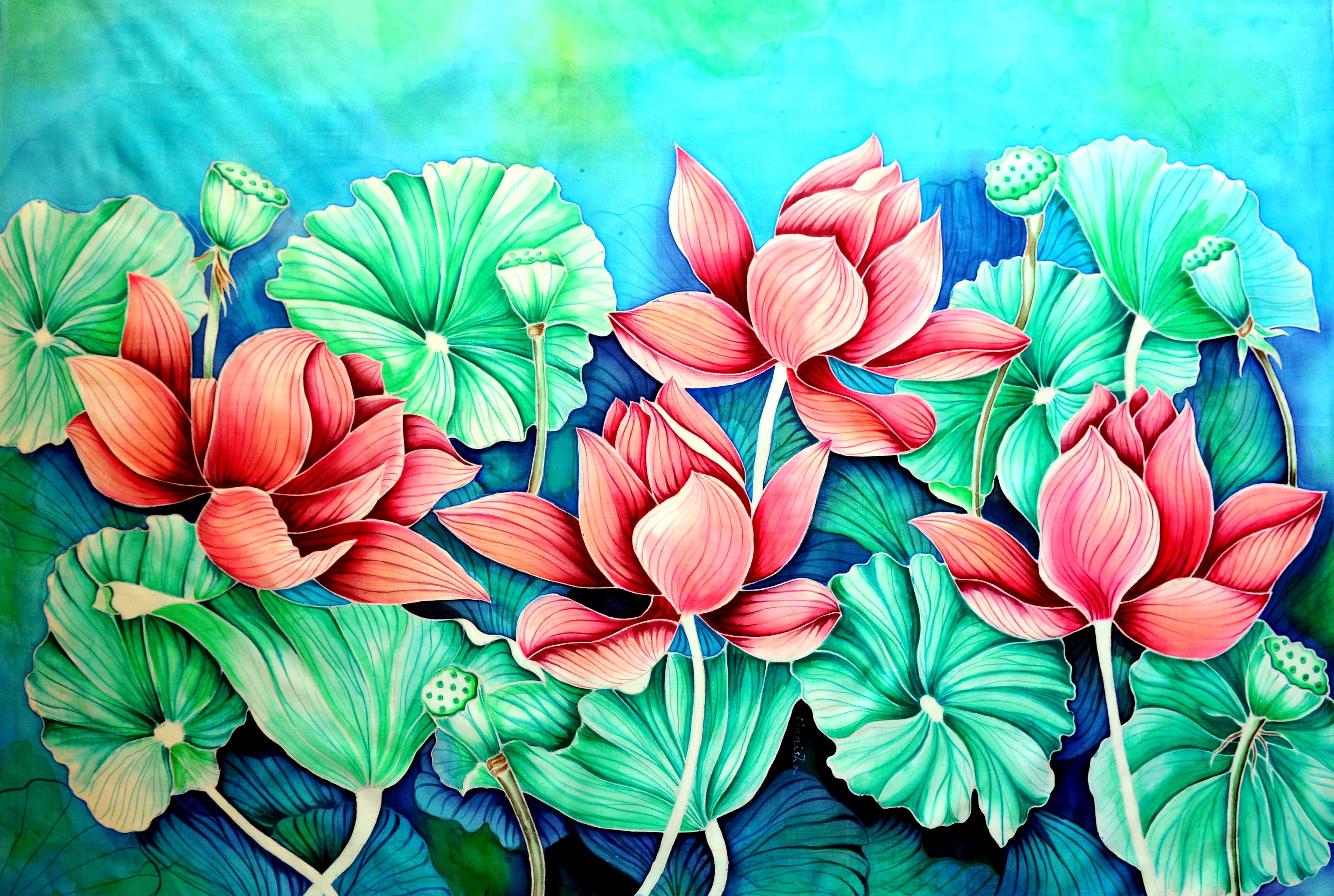 Lotus 2 (20X30)