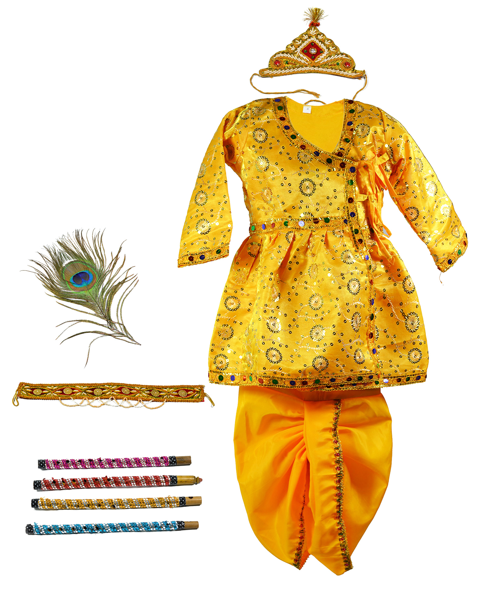 Fashion style How to dhoti wear like lord krishna for woman