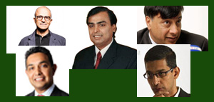 Top Five Indian CEO's Who Are Making The Country Feel Proud