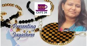 Jayashree And Her Beautiful Creation Of Handmade Jewellery