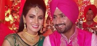 Harbhajan Singh  Weds Geeta Basra