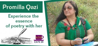 Poet Interview with Promilla Qazi : Experience The Essence Of Poetry With Her