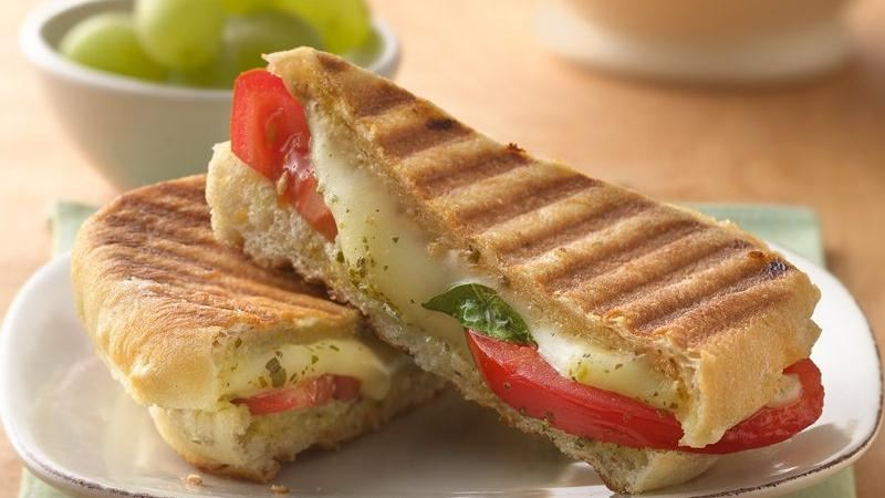 Mozzarella and Tomato Panini