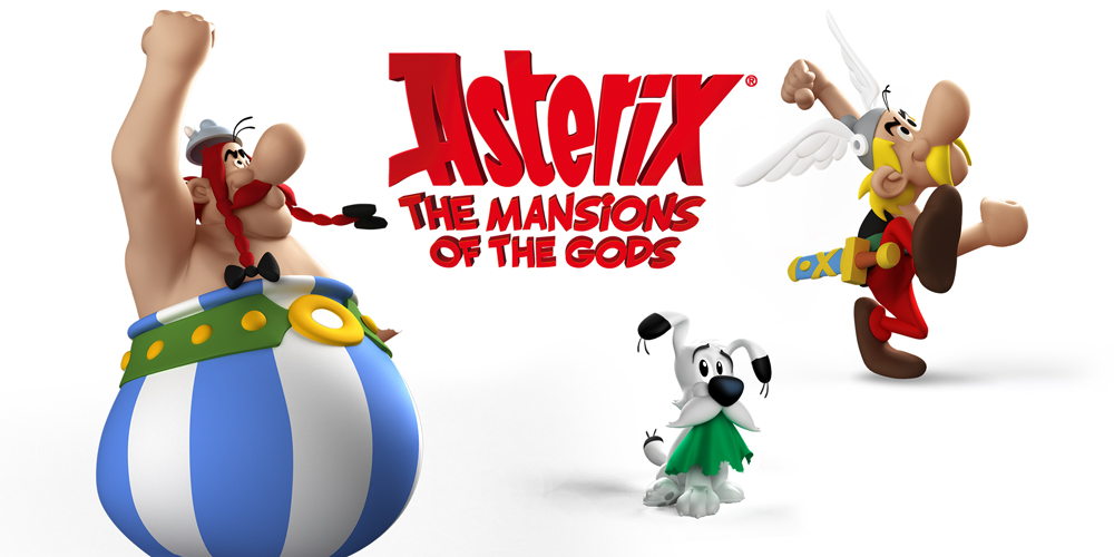 Asterix- The Mansions Of The Gods