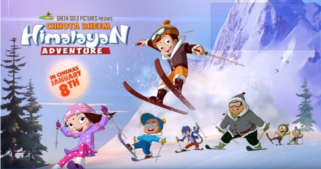 Chhota Bheem Himalayan Adventure- Movie Review