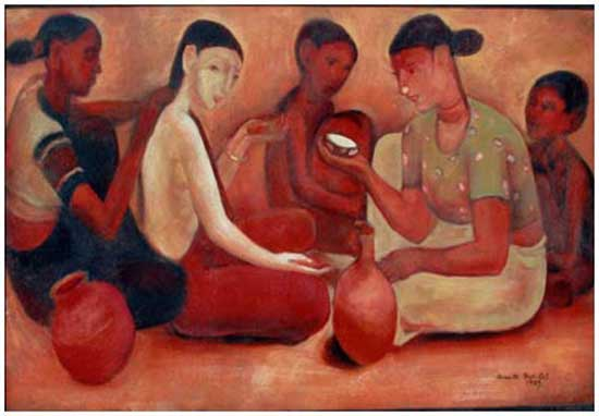 Amrita Sher-Gil painting 1