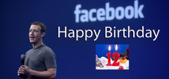 Happy Birthday To Facebook…..  A Journey of 12 years