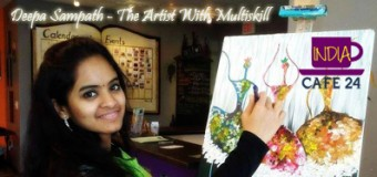 Deepa Sampath – The Artist With Multiskill