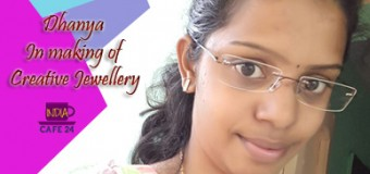 Dhanya In Making of Creative Jewellery