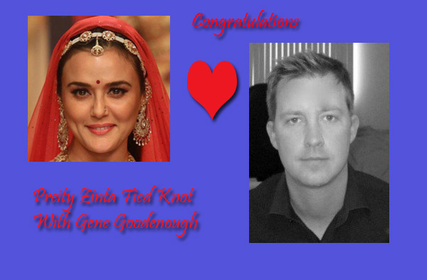Preity Zinta Tied Knot With Gene Goodenough