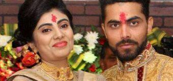 Congratulations – Ravindra Jadeja and Riva Solanki