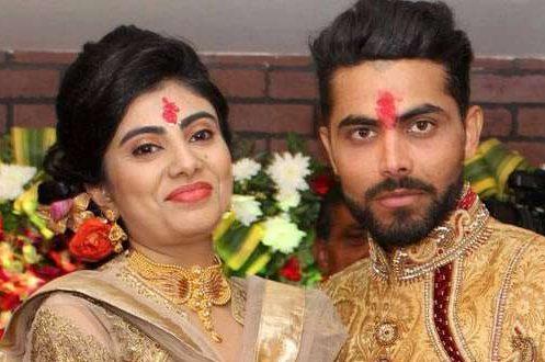 Congratulations - Ravindra Jadeja and Riva Solanki