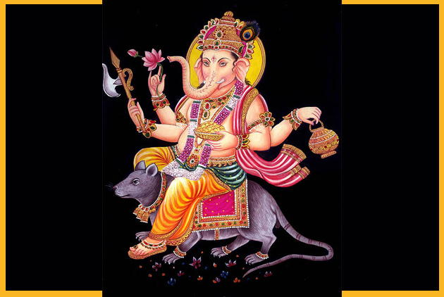 Ganesha-Sitting-on-Mouse