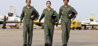The Country's First Female Fighter Pilots Get Their Wings