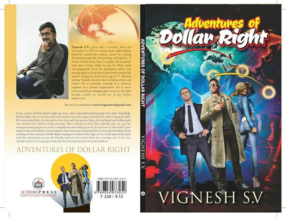 Vignesh SV, Book Review, Adventure Of Dollar Right