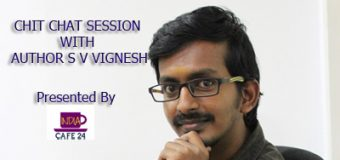 CHIT CHAT SESSION WITH AUTHOR S V VIGNESH