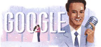 Google Celebrating 93rd Birthday Of Late Legendary Singer Mukesh