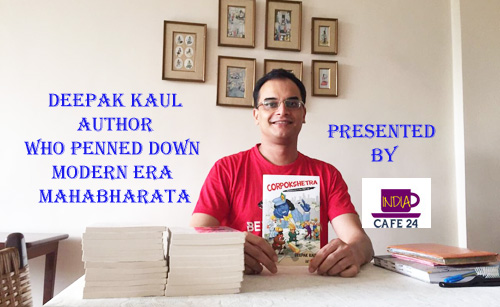 Author Deepak Interview