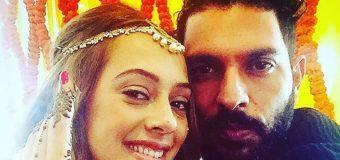 Yuvraj Singh and Hazel Keech – Tied Knot