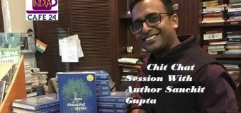 Chit Chat Session With Author Sanchit Gupta