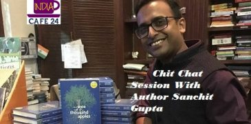 Chit Chat Session With Author Sanchit Gupta- IC24