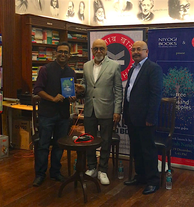 Sanchit Gupta Book Launch Picture