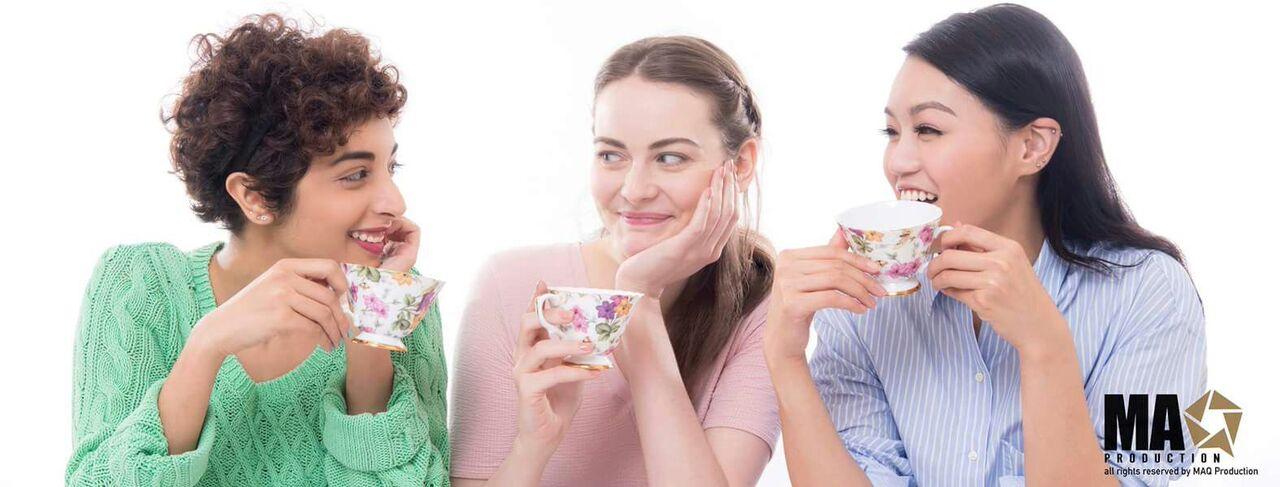 Floral Tea Campaign