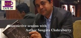 Meet the simple, sober and Charismatic Author from Bengal- Saugata Chakraborty