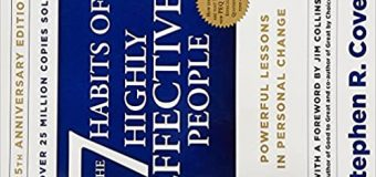 A Book Review Of Seven Habits Of Highly Effective People By Stephen R. Covey #Book Marathon
