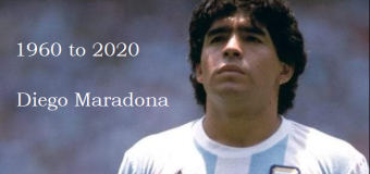 Diego Maradona, the Prince of Football, left the world @60 years