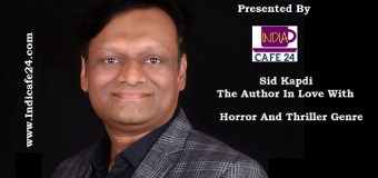 Sid Kapdi- The Author In Love With Horror And Thriller Genre
