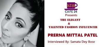 THE ELEGANT AND TALENTED FASHION INFLUENCER- PRERNA MITTAL